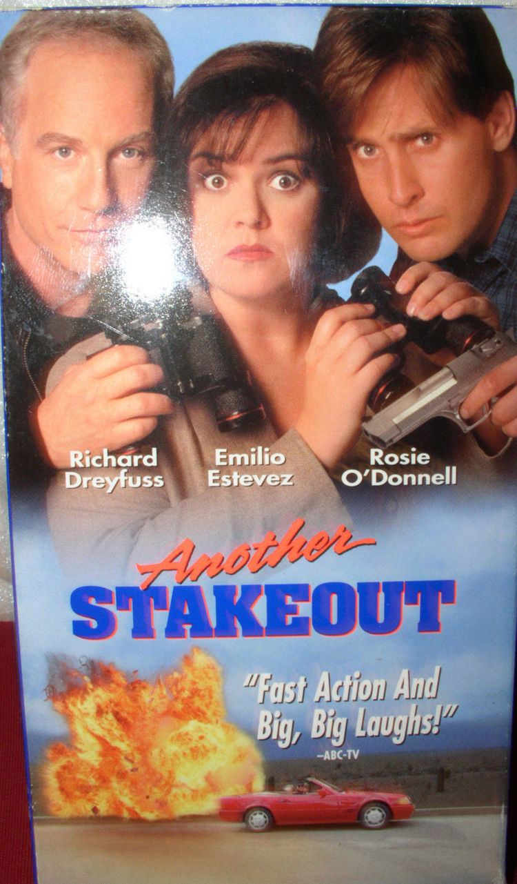 Another Stakeout Another Stakeout VHS 1994 Video Cassette Richard Dreyfuss Emilio