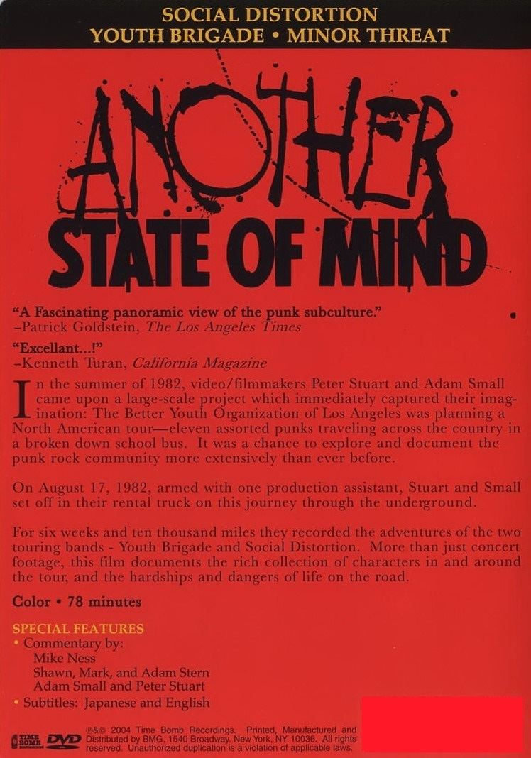 Another State of Mind (film) Another State Of Mind punkumentary deATh bRgeR powered by