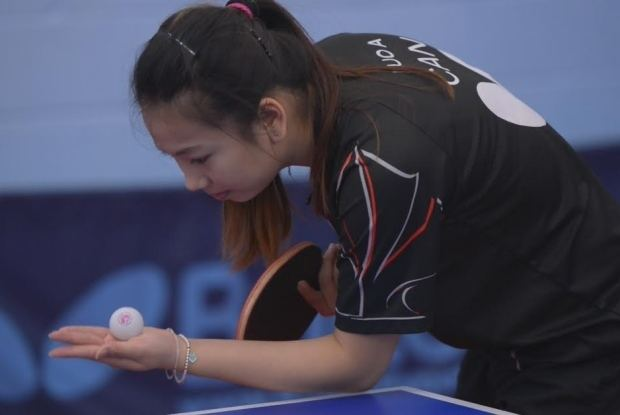 Anqi Luo Anqi Luo shows what it takes to be a top table tennis