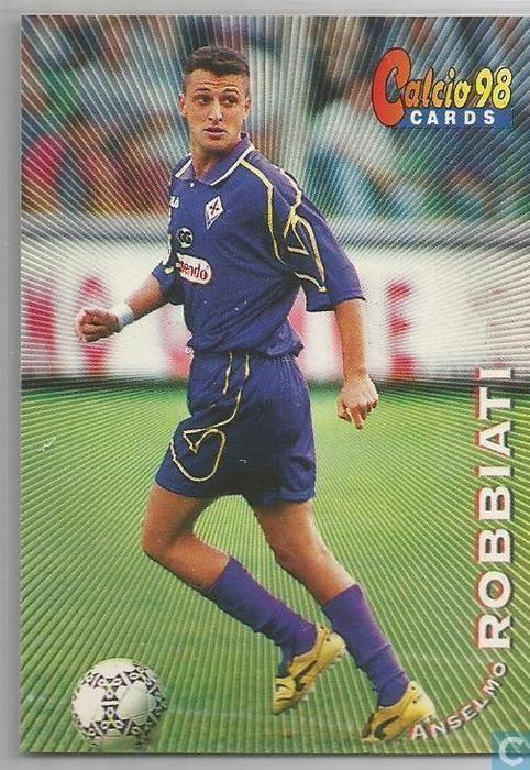 Anselmo Robbiati Anselmo Robbiati Calcio Cards 1998 Catawiki