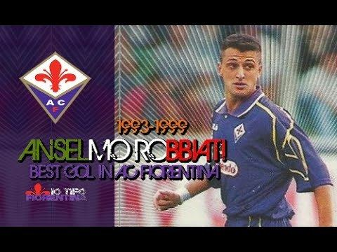 Anselmo Robbiati Anselmo Robbiati Best Gol in AC Fiorentina YouTube