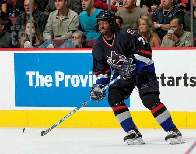 Anson Carter Backchecking Anson Carter The Hockey News