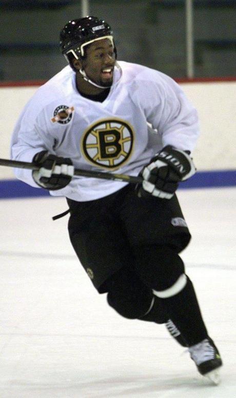 Anson Carter Racist reaction to finale tarnishes Bruins run The Boston Globe