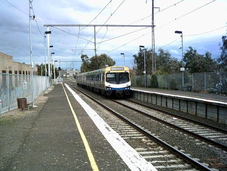 Anstey railway station