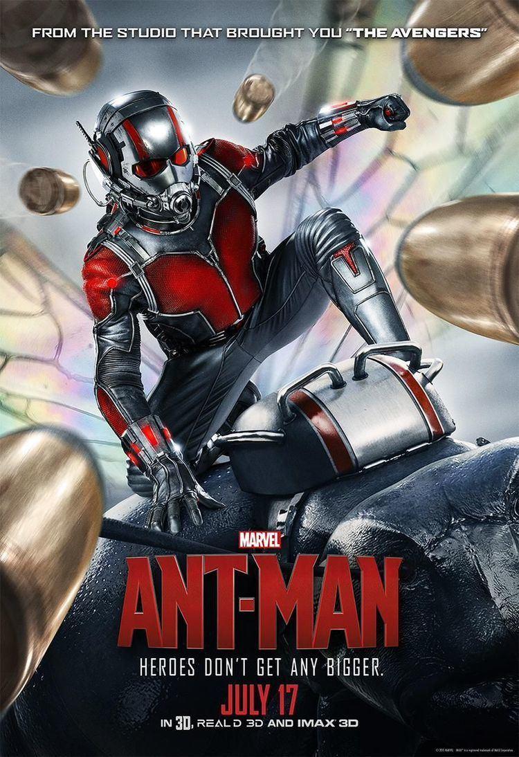 Ant-Man AntMan SuperHeroHype