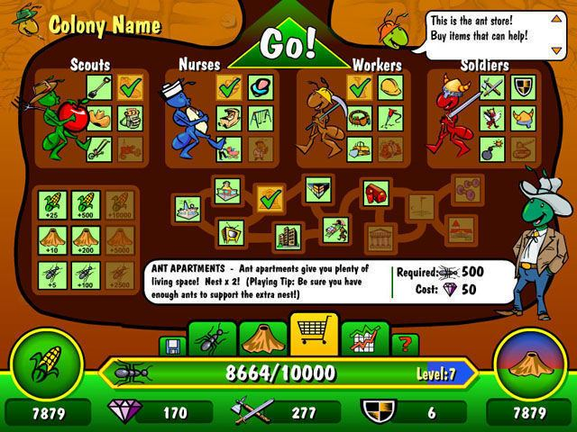 Ant War All about Ant War Download the trial version for free or purchase a