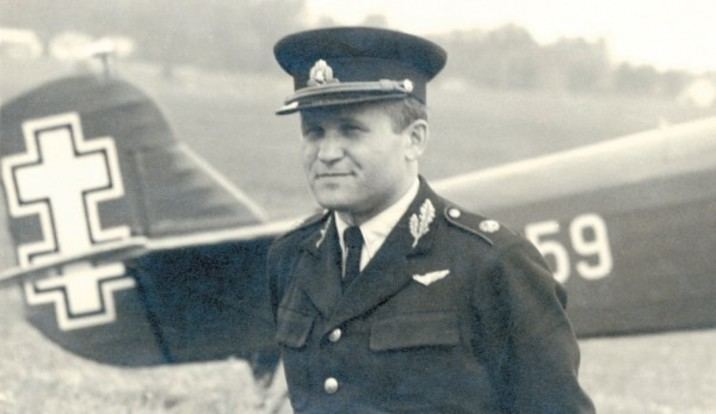 Antanas Gustaitis Nutrks skrydis Alfalt