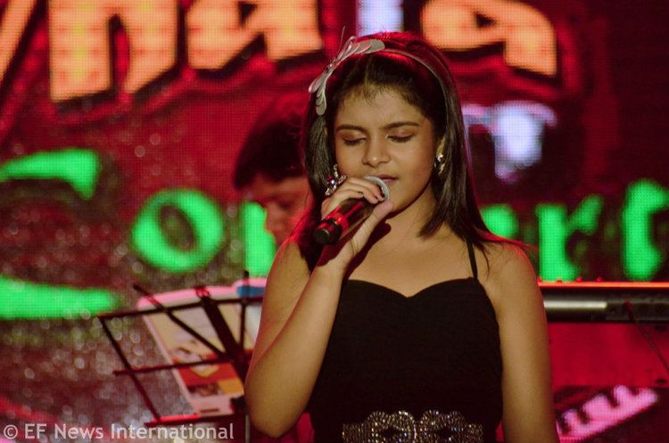 Antara Nandy Antara Nandy at Alive India in Concert in Bangalore