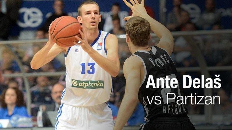 Ante Delaš Ante Dela razbija Partizan 16112015 YouTube