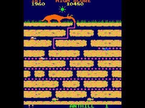Anteater (video game) MAMECADE 5 Anteater Arcade Game YouTube