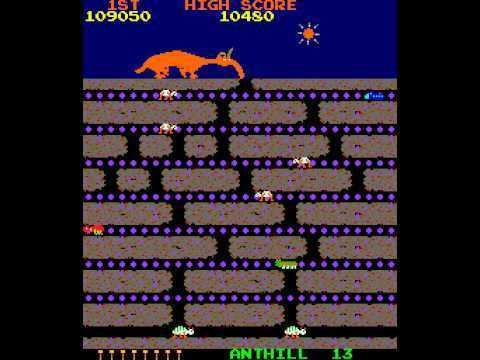 Anteater (video game) Arcade Game Anteater 1982 Stern Tago license YouTube