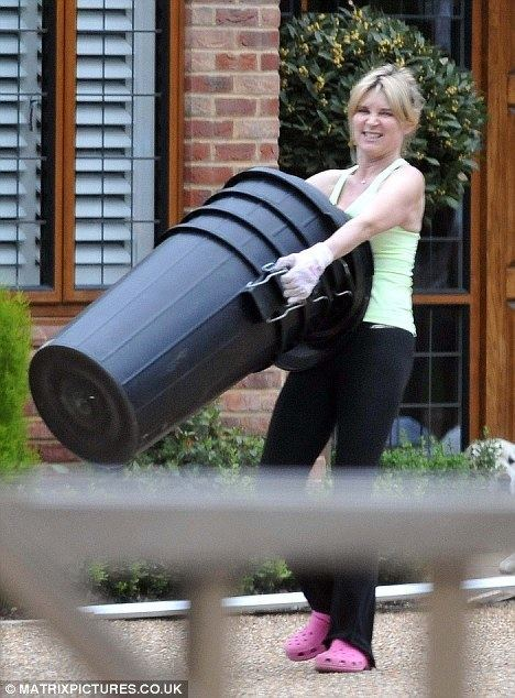 Anthea Turner: Perfect Housewife Crikey Anthea This Perfect Housewife lark looks hard work Miss