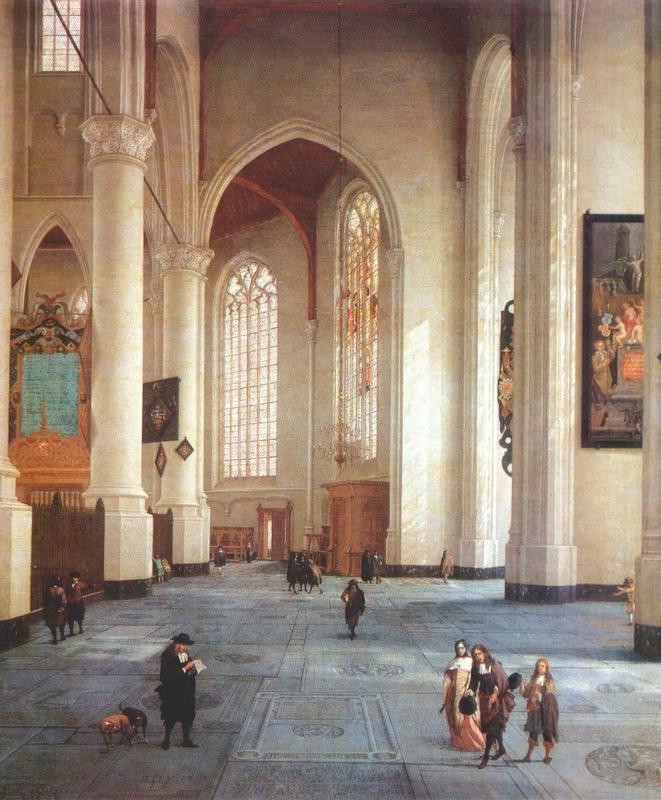 Anthonie de Lorme FileAnthonie de Lorme Interior of the St Laurenskerk in Rotterdam
