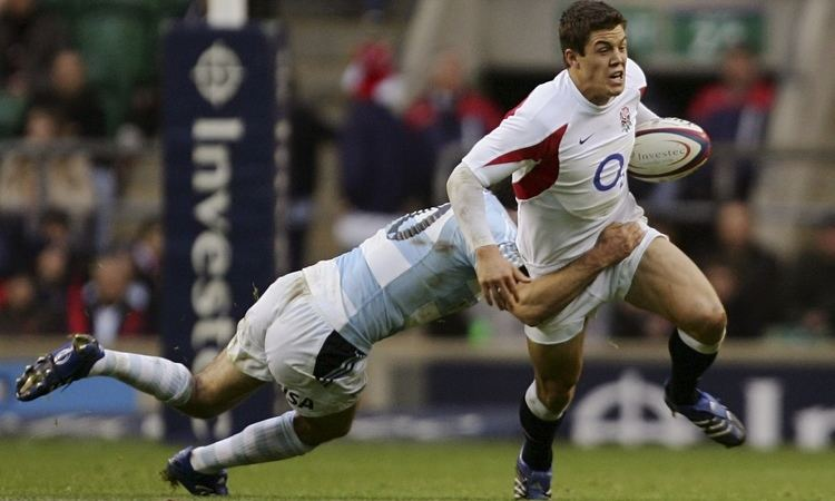 Anthony Allen (rugby union) Former England and Leicester centre Anthony Allen forced
