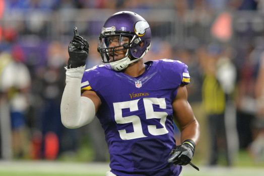 Anthony Barr (American football) Vikings Mike Zimmer Anthony Barr has tendency to coast