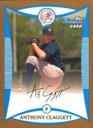 Anthony Claggett Anthony Claggett Baseball Statistics 20032015