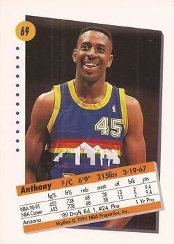 Anthony Cook (basketball) Anthony Cook Gallery The Trading Card Database