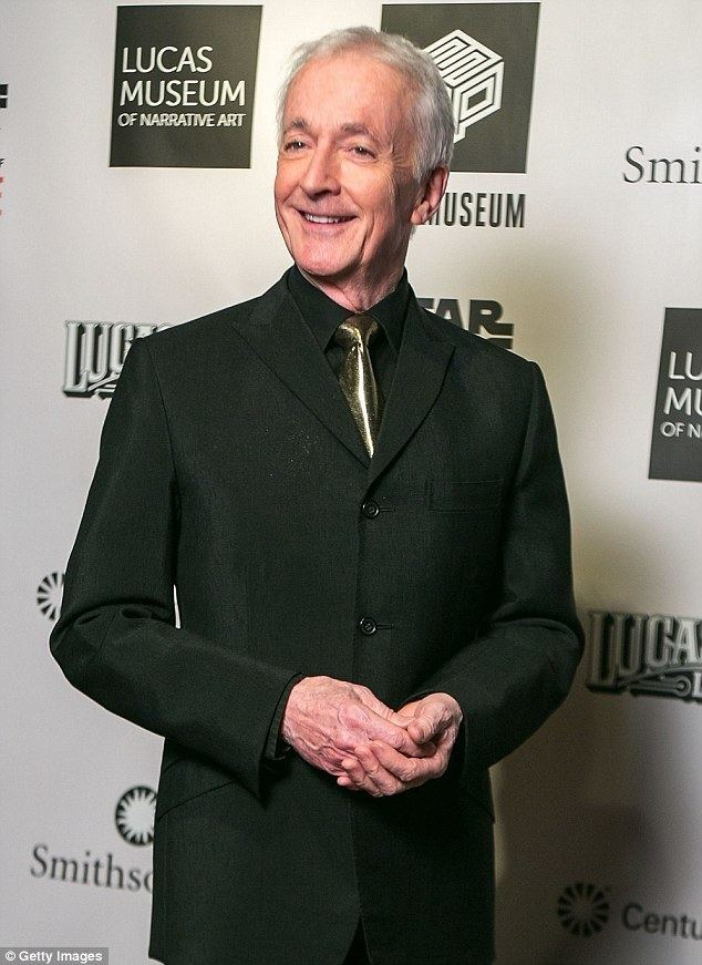 Anthony Daniels C3PO actor Anthony Daniels on CGI in Star Wars prequels Daily