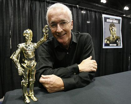 Anthony Daniels C3PO actor Anthony Daniels says Star Wars The Force Awakens