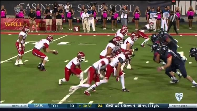 Anthony Denham 2013 Utah vs Arizona Anthony Denham Touchdown YouTube
