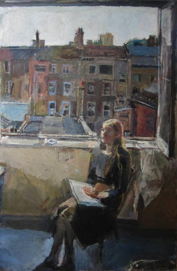 Anthony Eyton Anthony Eyton Artist Spitalfields Life