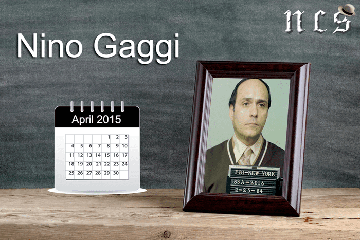 Anthony Gaggi Nino Gaggi NCS Mobster of the Month for April 2015 The NCS