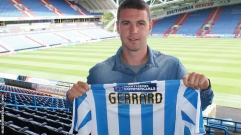 Anthony Gerrard Huddersfield Town sign Anthony Gerrard from Cardiff City BBC Sport