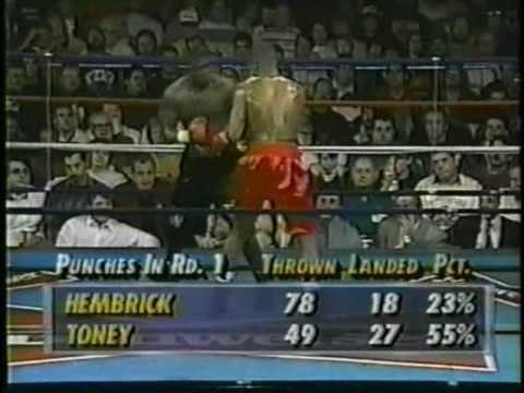 Anthony Hembrick James Toney TKO7 Anthony Hembrick Part 13 YouTube