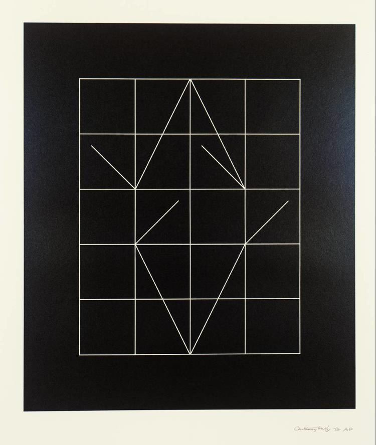 Anthony Hill (artist) Vector Rhythms Anthony Hill 1972 Tate