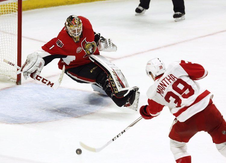 Anthony Mantha Red Wings Anthony Mantha more patient with puck and seeing results