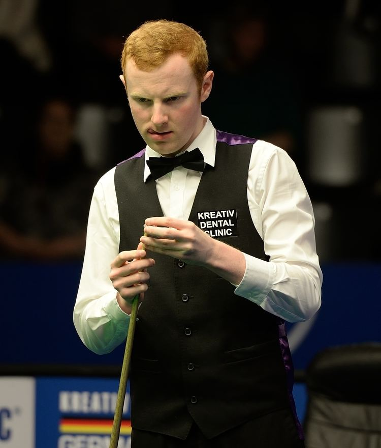 Anthony McGill FileAnthony McGill at Snooker German Masters DerHexer