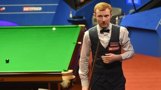 Anthony McGill World Snooker Championship Anthony McGill leads Mark