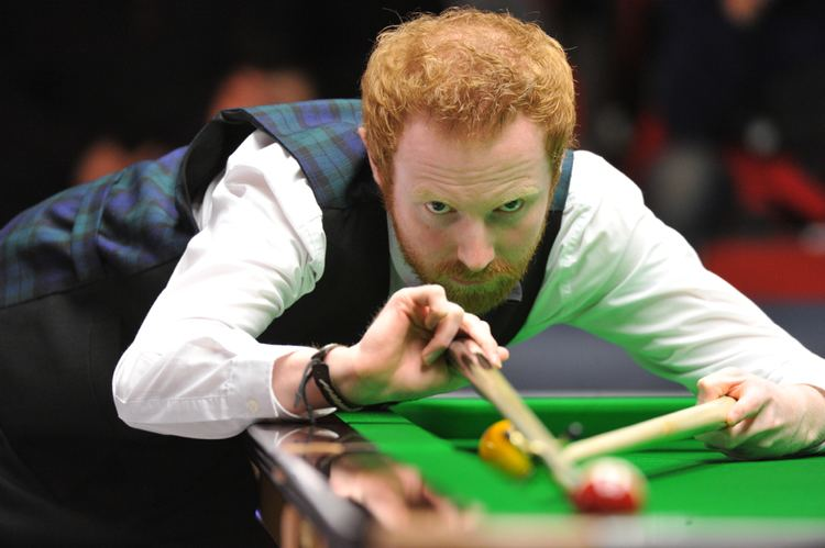 Anthony McGill Mark Selby v Anthony McGill tips back rookie to cover