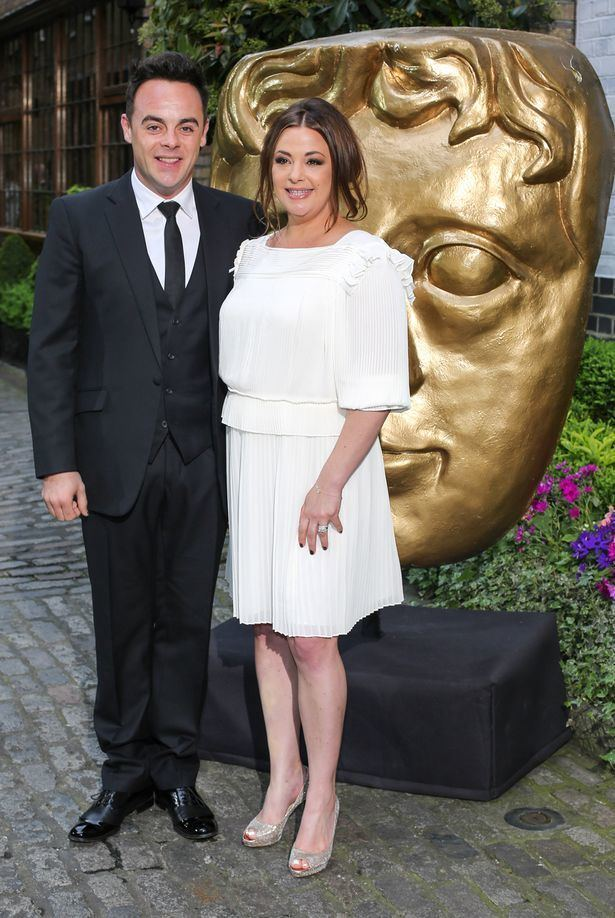 Anthony McPartlin Ant ditches Dec and brings wife Lisa Armstong as his date to BAFTA