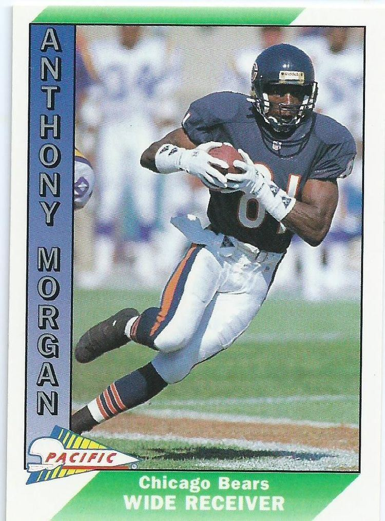Anthony Morgan (American football) CHICAGO BEARS Anthony Morgan 563 PACIFIC 1991 NFL American