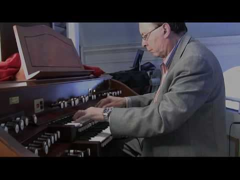 Anthony Newman (musician) JS Bach Fugue in G Minor BWV 542 Anthony Newman Organ YouTube