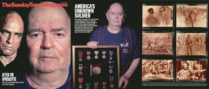 Anthony Poshepny The Sunday Times Magazine America39s Unknown Soldier