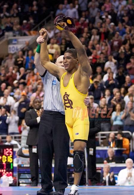 Anthony Robles OneLegged Wrestler Anthony Robles Is Coming Out Of