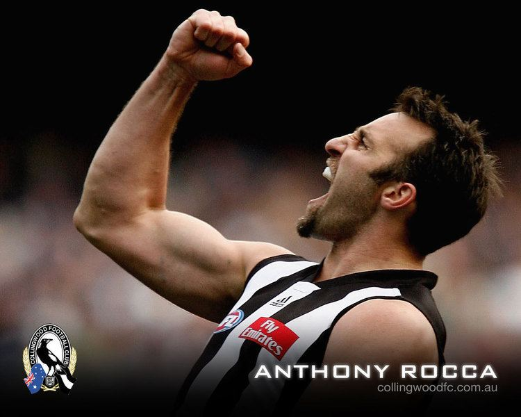 Anthony Rocca Collingwood great Anthony Rocca Collingwood Photo