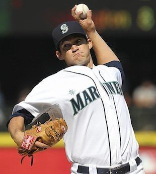 Anthony Vasquez (baseball) Onetime Mariners pitcher Anthony Vasquez overcomes toughest trial