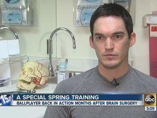 Anthony Vasquez (baseball) MLB player Anthony Vasquez makes remarkable recovery from brain