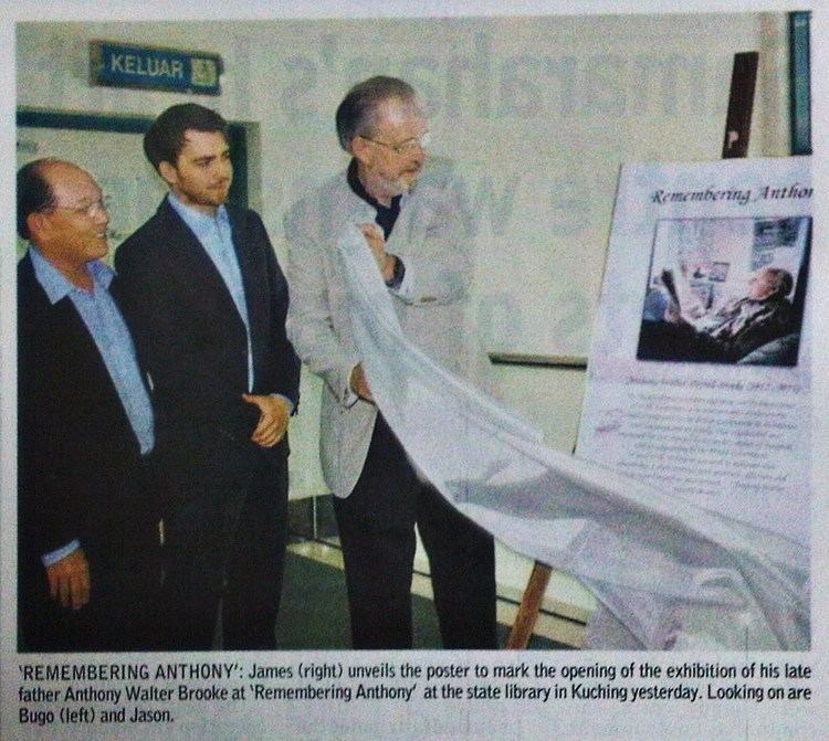 Anthony Walter Dayrell Brooke The Story of Sarawak Remembering Anthony Brooke