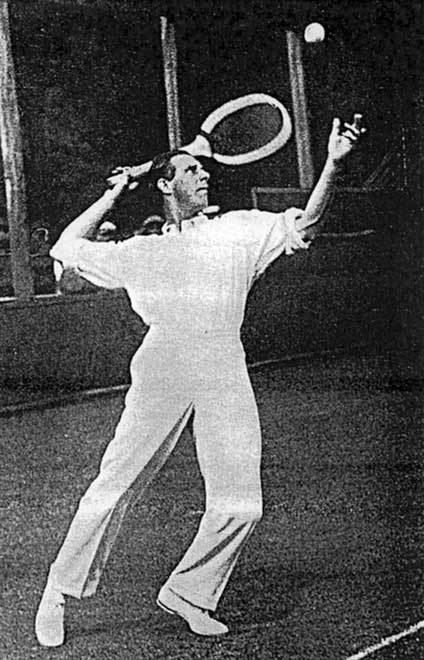 Anthony Wilding Anthony Wilding midserve 1914 Tennis Te Ara Encyclopedia of