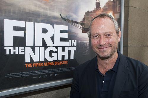 Anthony Wonke Fire in the Night Director Anthony Wonke outside the