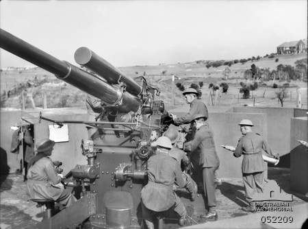 Anti-aircraft defences of Australia during World War II