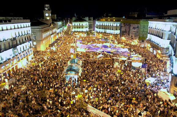 Anti-austerity movement in Spain