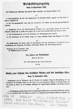 Anti-Jewish legislation in prewar Nazi Germany