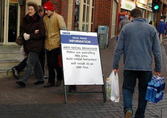 Anti-social behaviour order