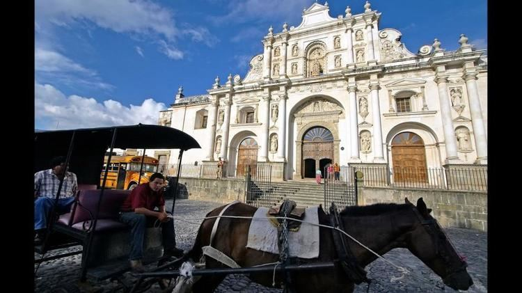 Antigua Guatemala in the past, History of Antigua Guatemala
