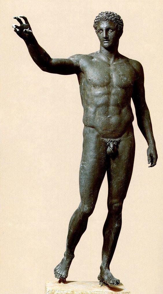 Antikythera Ephebe Statues amp Busts Life Size statues The Ephebe of Antikythera